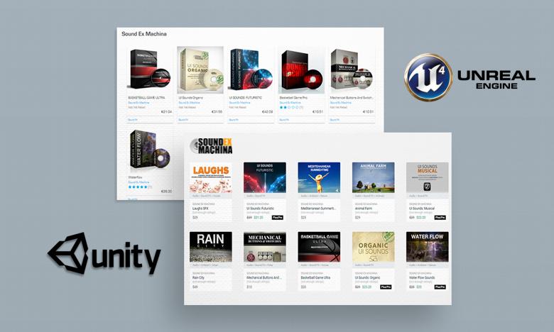 Find Sound Ex Machina Libraries on Top Game Engine