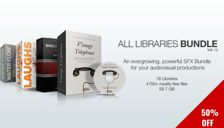 Sound Ex Machina - All Libraries Bundle