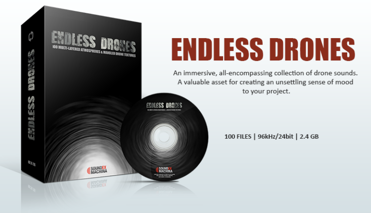 Endless Drones sound effects library