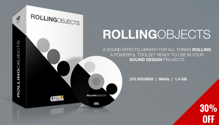 Rolling Objects Sound Effects library