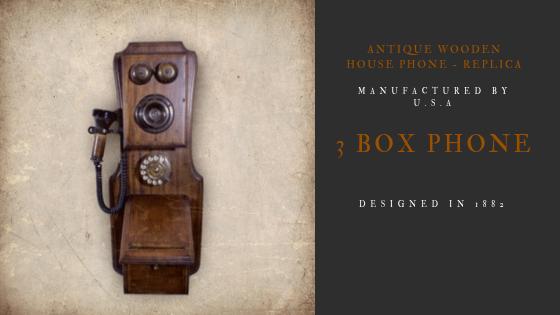 3 Box Phone 1882