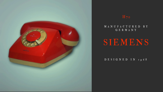 Siemens H70 1969