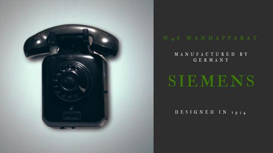 Siemens W48 Wandapparat 1934