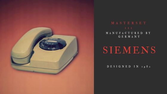 Siemens Μasterset 111 1980