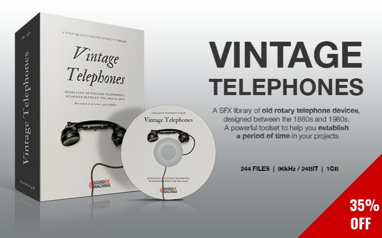 Vintage Telephones sound effects library