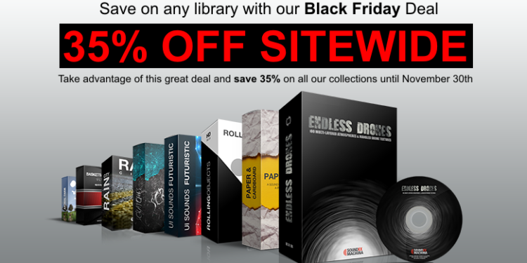 Sound Ex Machina - Black Friday Sale 2018