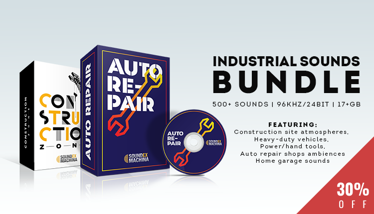 Industrial Sounds sound effects library