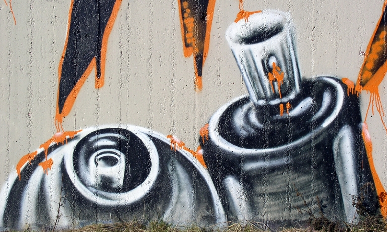 Graffiti spray paint sound effects 3